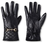 Merona Women's Genuine Leather Tech Touch Glove