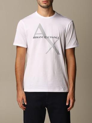 Armani Exchange Cotton T-shirt With Logo