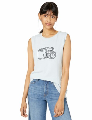 French Connection Women's Short Sleeve Crew Neck Graphic T-Shirt