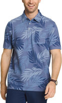 Van Heusen Short Sleeve Oasis Printed Polo Shirt