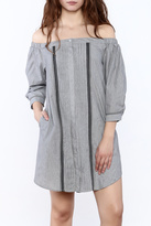 Greylin Leslie Off-Shoulder Dress