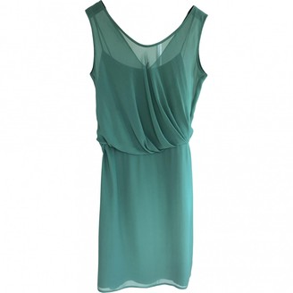 Max Mara Green Silk Dresses