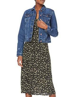 New Look Tall Women's Ta Li Denim Jacket,8 (Size:8)