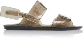 Off-White Zip-Tie Vinyl Sandals Size: 37