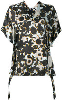 Christian Wijnants floral-print top - women - Silk - 34