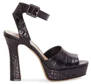 Vince Camuto Kortinta Leather Heeled Sandals