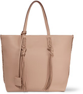 Tod's Gypsy Medium Textured-leather Tote - Beige