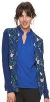 Elle Women's ELLETM Mixed-Media Cardigan