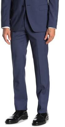 John Varvatos Bedford Blue Plaid Wool Suit Separates Trousers
