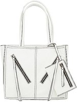 Charlotte Russe Faux Leather Tote Bag