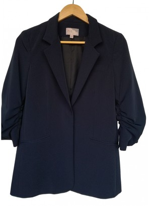 Elizabeth and James Navy Polyester Jackets