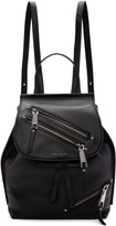 Marc Jacobs Black Leather Zip Backpack