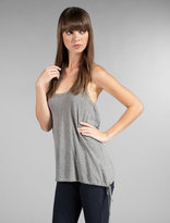 Gassed Cotton Side Tie Tank