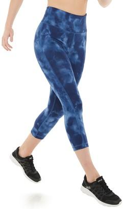 Tek Gear Women's Essential Cotton High-Waisted Capri Leggings