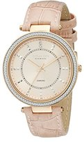 Johan Eric Women's JE1000B-09-009 Ballerup Analog Display Quartz Blush Watch