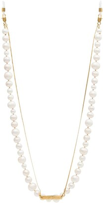 Frame Chain 18kt Gold Plated Pearly Princess Chain