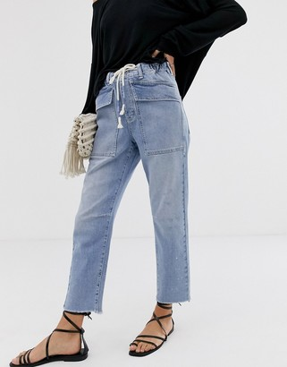 We The Free By Free People by Free People City Slouch mom jean