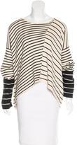 Kimberly Ovitz Striped Long Sleeve Sweater