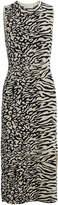Proenza Schouler Pswl Animal Jacquard Knit Dress
