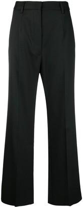 MM6 MAISON MARGIELA Flared High Waisted Trousers
