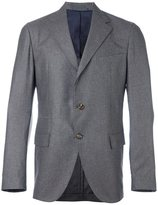 Eleventy notched lapel blazer