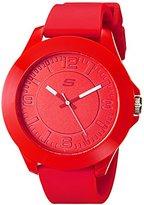 Skechers Men's SR5010 Analog Display Quartz Red Watch