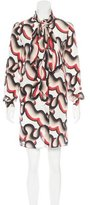 Jonathan Saunders Silk Printed Dress