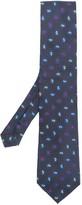 Etro micro paisley tie