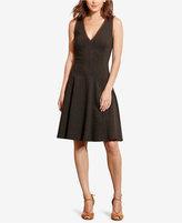 Lauren Ralph Lauren Petite Fit-and-Flare Ponte Dress