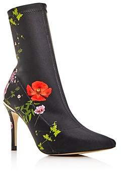 Ted Baker Women's Elzbet Floral High-Heel Booties