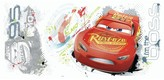 Roommates Disney / Pixar Cars 3 Lightning McQueen Graphic Wall Decals by RoomMates