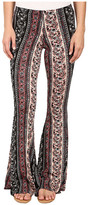 Brigitte Bailey Trea Printed Bell-Bottom Pants