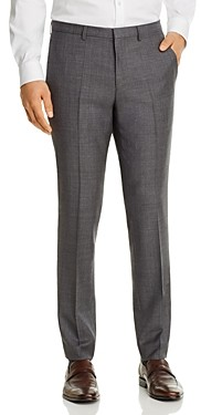 HUGO BOSS Hesten Sharkskin Extra Slim Fit Suit Pants