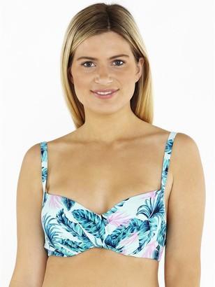 M&Co Beachcomber underwire crossover bikini top