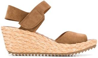 Pedro Garcia Fama espadrille wedge sandals