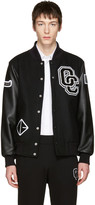 Opening Ceremony Black Varsity Bomber Jacket