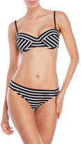 Vince Camuto Striped Bikini Set