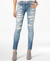 Hudson Nico Ripped Skinny Jeans