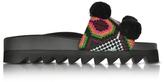 Joshua Sanders Namibia Multicolor Fabric Slide