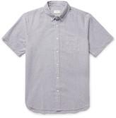 Club Monaco Button-Down Collar Cotton-Seersucker Shirt
