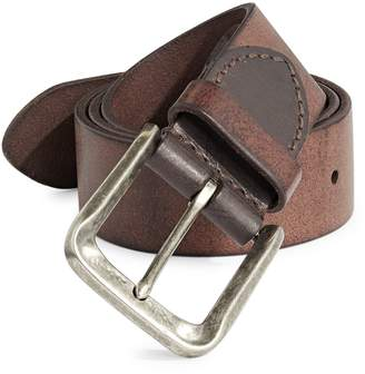 John Varvatos Stained Leather Belt