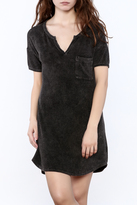 Mono B Textured T-Shirt Dress