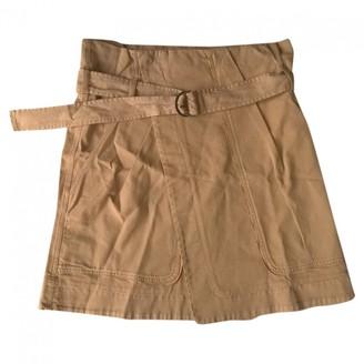 Vanessa Bruno Camel Cotton Skirts