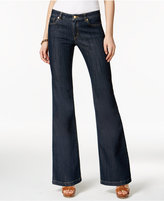 MICHAEL Michael Kors Selma Authentic Wash Flare-Leg Jeans
