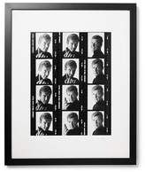 Sonic Editions Framed Roger Moore Contact Sheet Print, 17 X 21