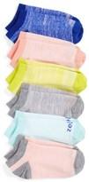 Zella Girl's 6-Pack Ankle Socks