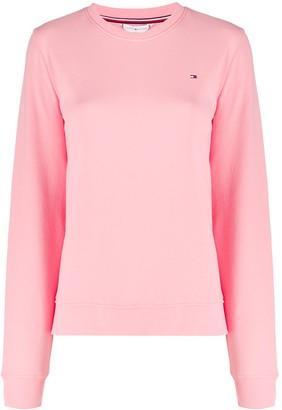 Tommy Hilfiger Logo-Embroidered Sweatshirt