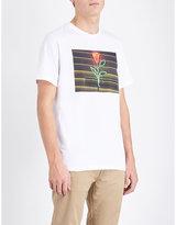 A.p.c. La Rose Cotton-jersey T-shirt