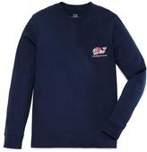 Vineyard Vines Boys' Lacrosse Whale Long Sleeve Tee - Sizes S-XL