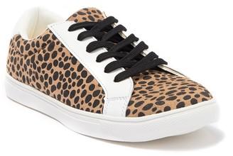 C&C California Vegan Leather Lace-Up Sneaker